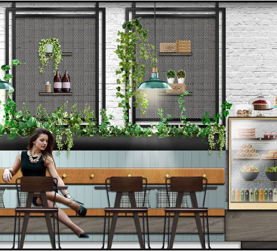 Retail Design - Cafe Design