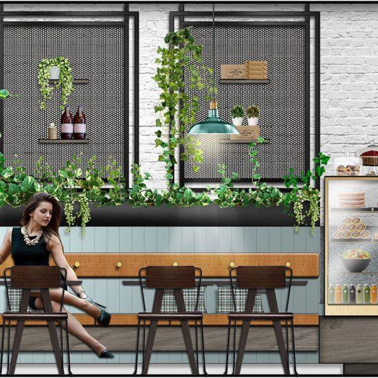 Retail Design - Cafe Design