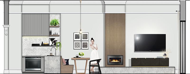 Residential Design - Modern Victorian Design