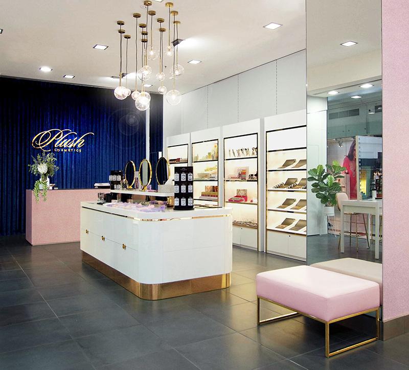 Plush Cosmetics Retail Design Elvintan Architecture