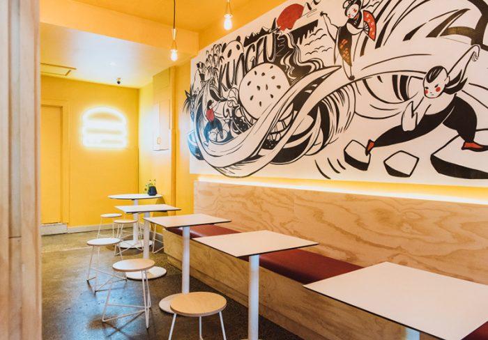 Restaurant Design - Broadsheet