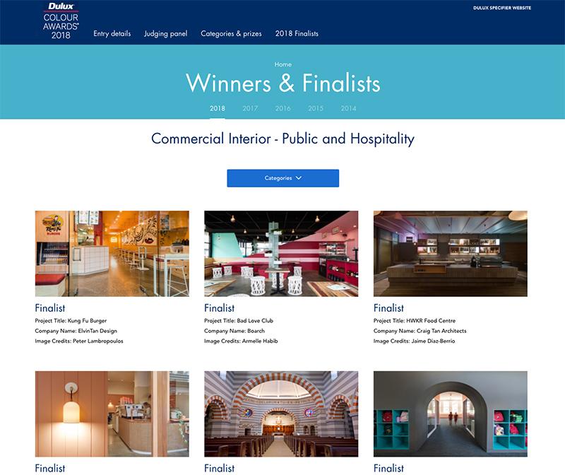 Design Awards - Awards Winning Studio