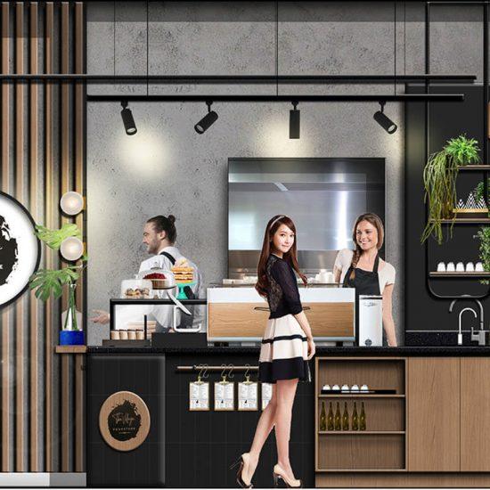 Cafe -Design - Melbourne