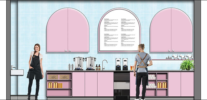 Dessert Restaurant Design - Melbourne