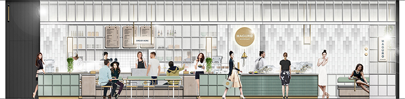 Restaurant Design Maguro Oyster Bar