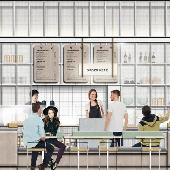 Restaurant Design Maguro Oyster Bar