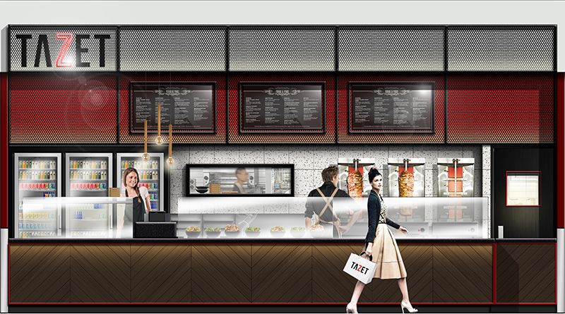 Shopping Mall - Restaurant - Food Court Design Melbourne
